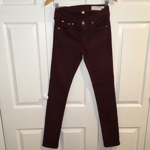 [Rag and Bone] women's skinny jeans